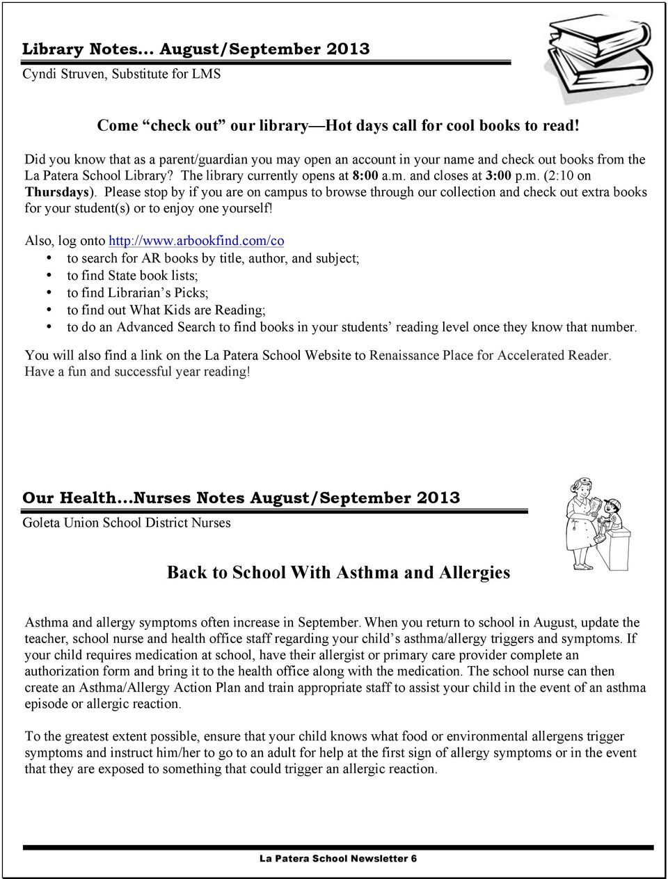 La Patera School Tiger Talk - PDF