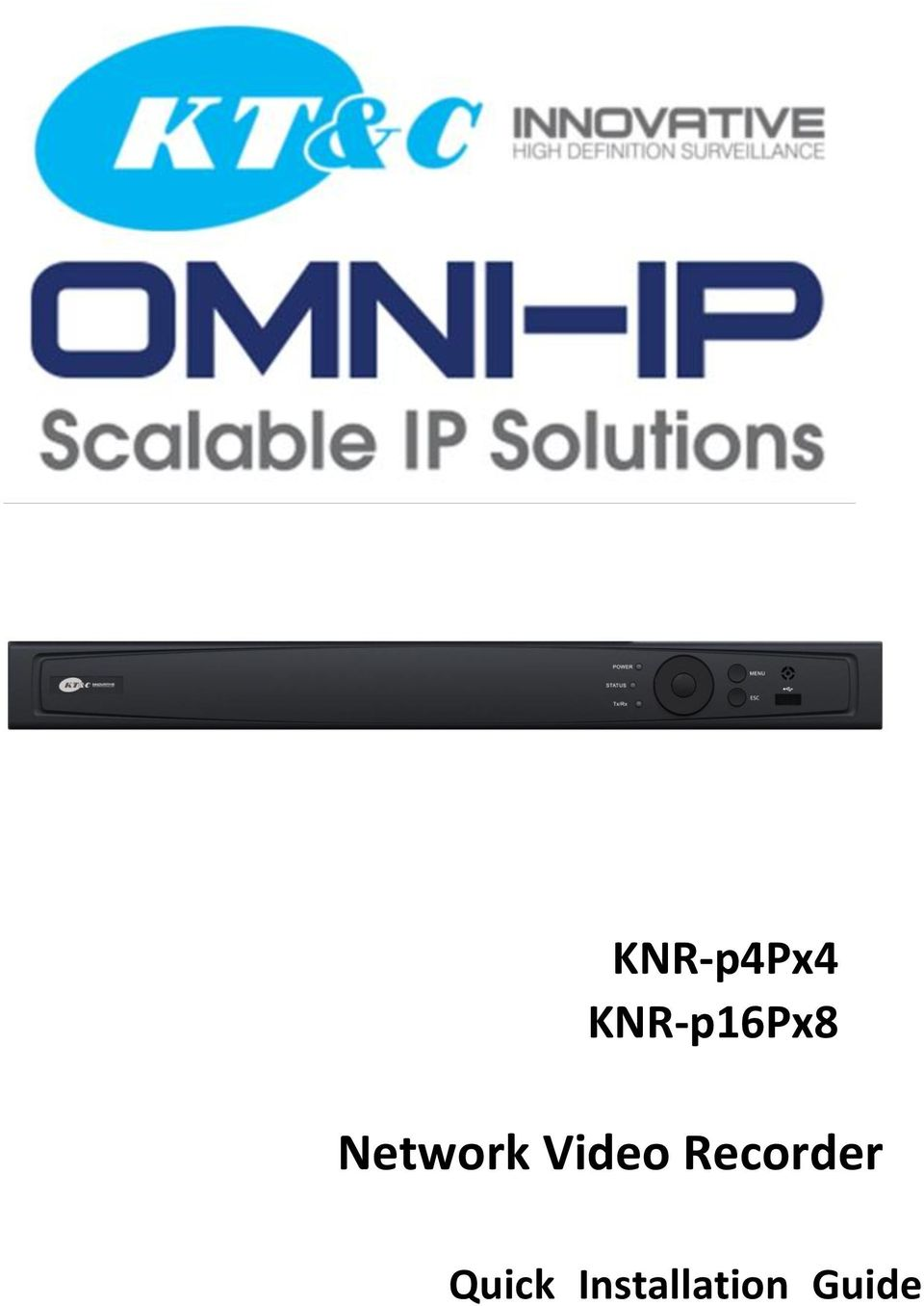 KT&C KNR-p16Px8 NVR Drivers for Windows XP