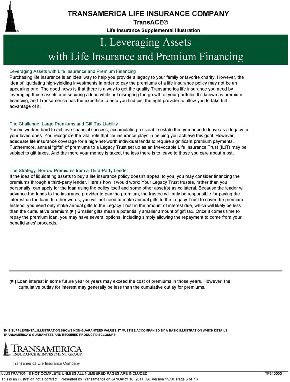 Transamerica Life Insurance Reviews >> Transamerica Life Insurance Company Transace Life Insurance