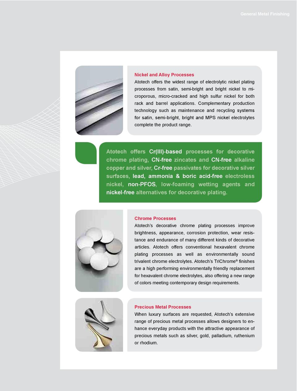 General Metal Finishing Technology Perfectly Matched Concepts for