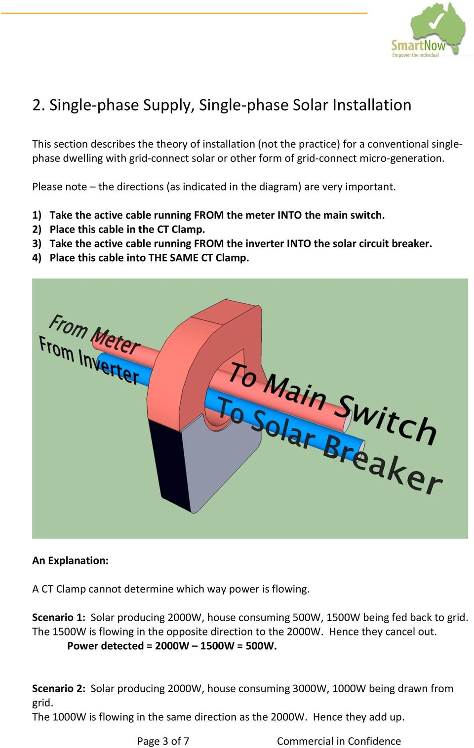Current Cost Trec Envi Envir Smartnow 2 Single Pole Breaker Wiring Diagram Place This Cable In The Ct Clamp 3 Take Active