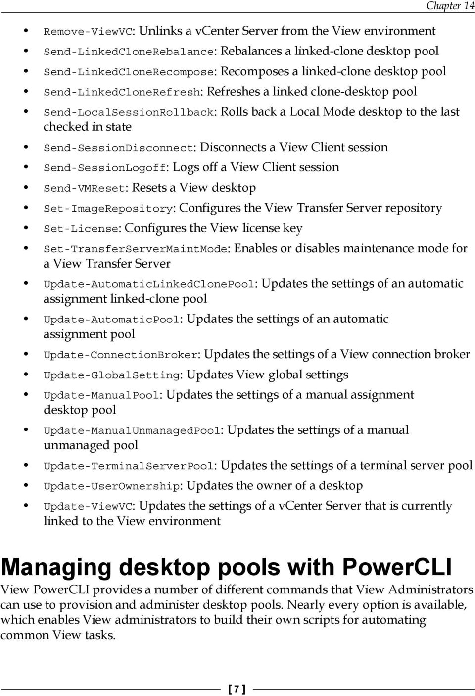 Managing View with PowerCLI - PDF