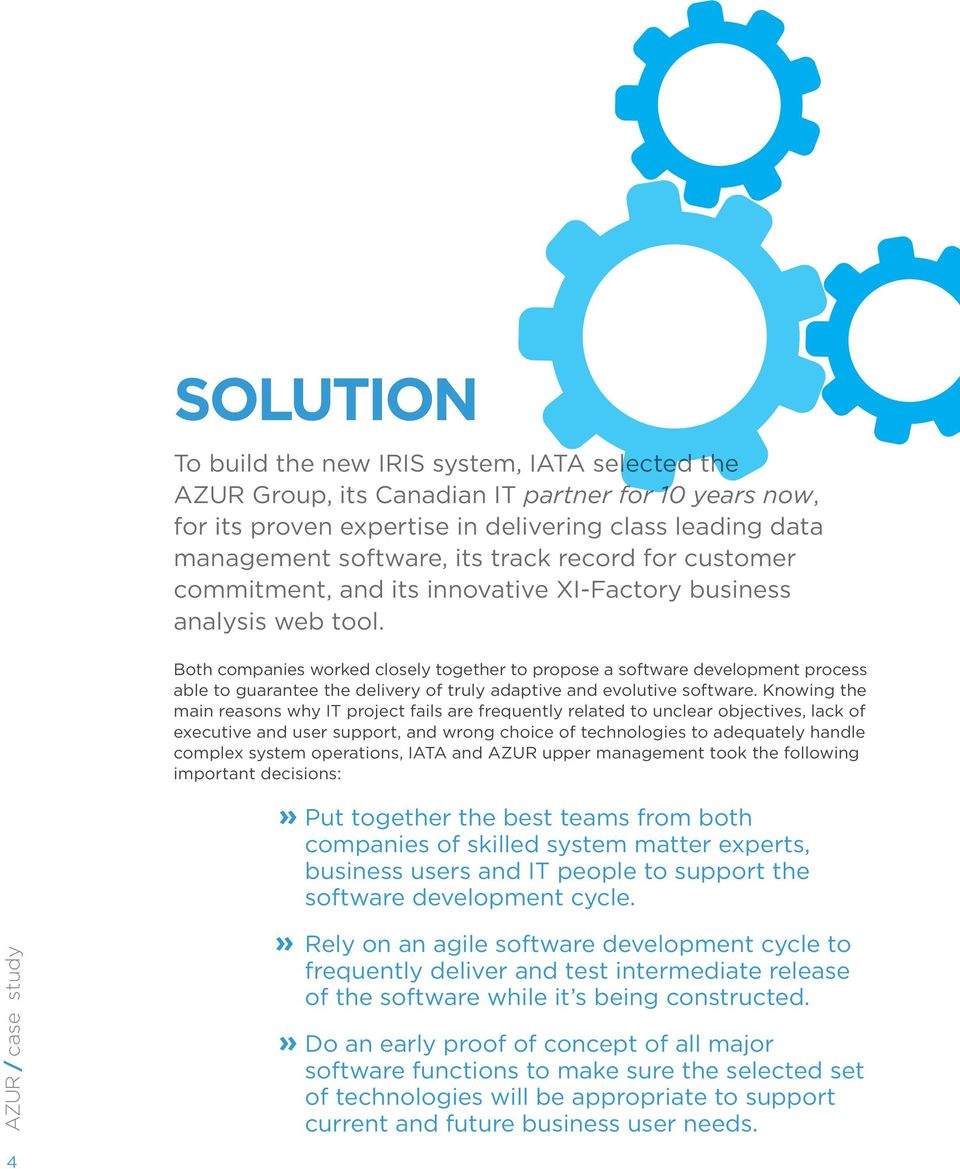 The new IATA s Remittance and Settlement Integrated Solution