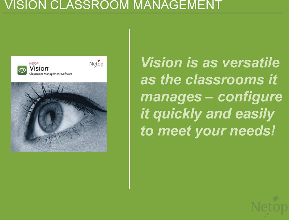 classrooms it manages configure