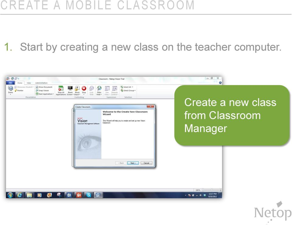 Start by creating a new class on
