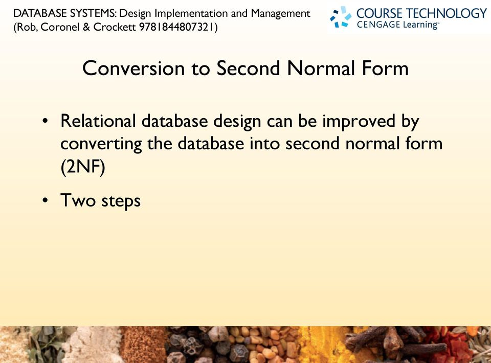 database design can be improved by converting