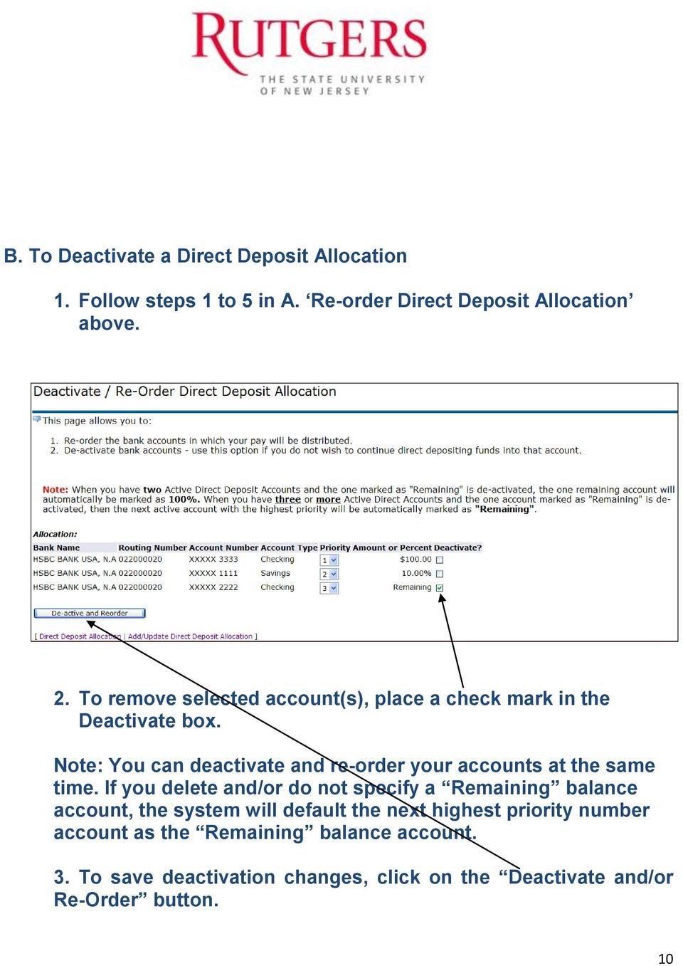 Enrolling in the Banner Payroll Direct Deposit Program - PDF