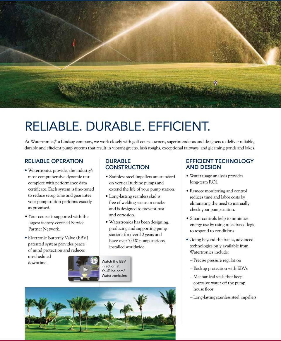 Proven Pumping Solutions For Golf Pdf Pumps Flygt Submersible Liberty Logo Godwin Pump Diagram Roughs Exceptional Fairways And Gleaming Ponds Lakes Reliable Operation Watertronics Provides The 4 Custom