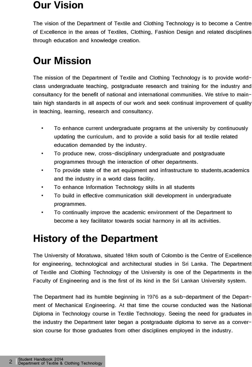 Department Of Textile Clothing Technology Pdf Free Download