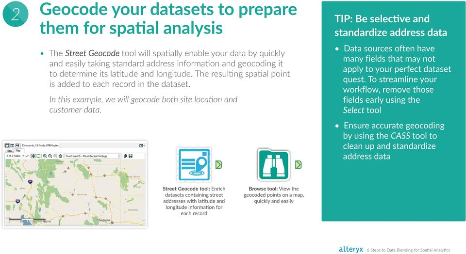 6 Steps to Data Blending for Spatial Analytics - PDF
