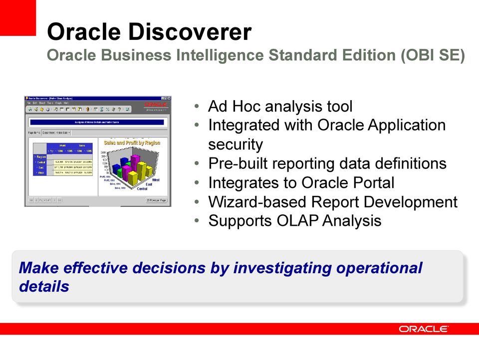 Insert Picture Here> Oracle Business Intelligence - PDF