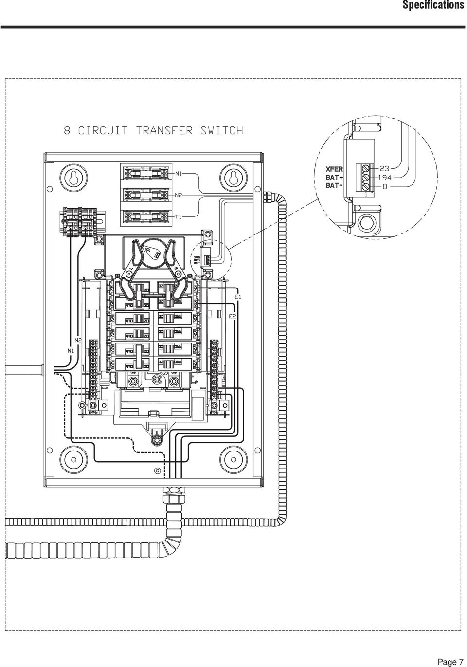 Corepower Home Standby Generator Pdf Diagram Also 240v Step Down Transformer Wiring On Gp5500 10 Notes Page 8