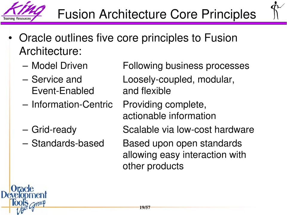 flexible Information-Centric Providing complete, actionable information Grid-ready Scalable via