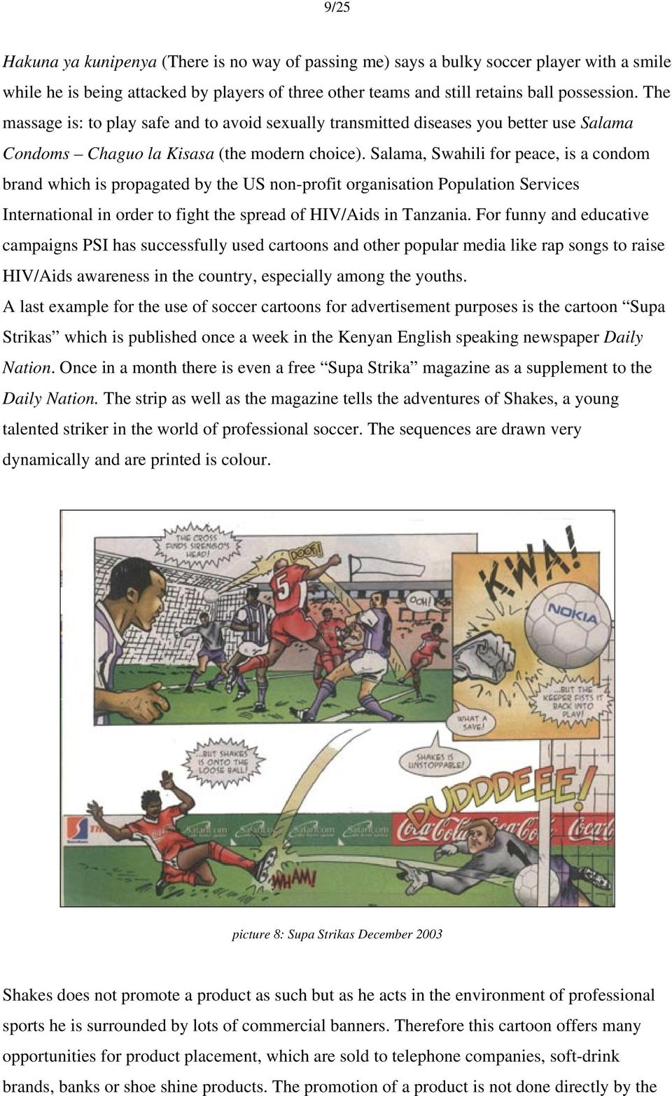 Winners, cheats and witches: East African soccer cartoons Beez