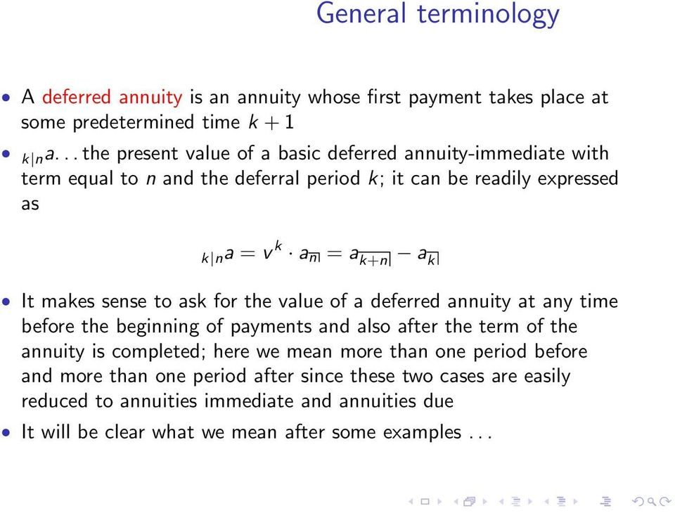 Future value of annuity i ordinary and due annuity i examples.