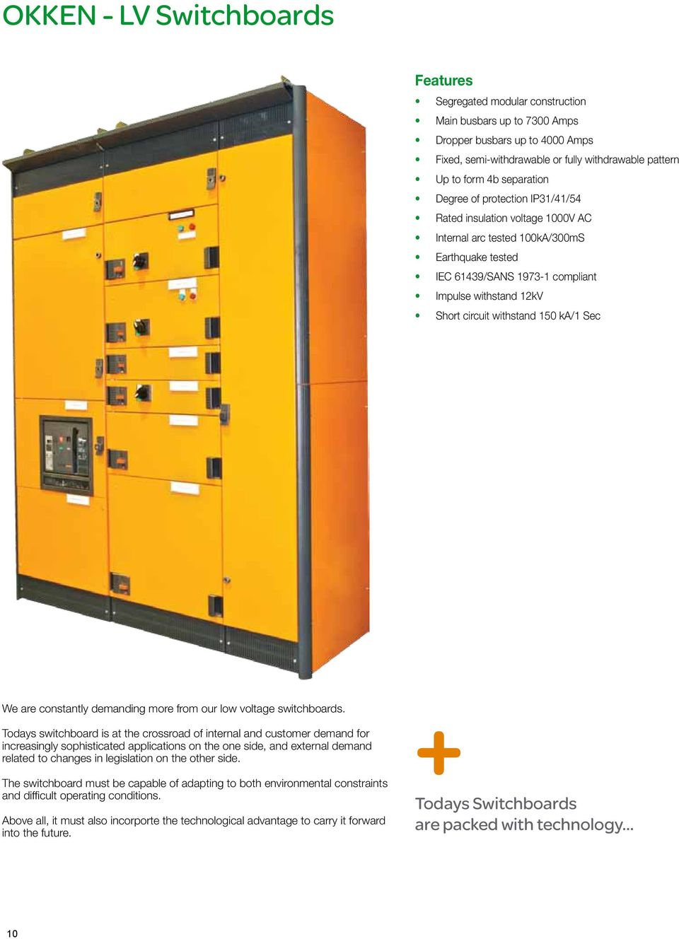 Lv Equipment For Industrial Solutions Pdf Shortcircuit Generatorshortcircuit Generatorsec Electric Ka 1 Sec We Are Constantly Demanding More From Our Low Voltage Switchboards