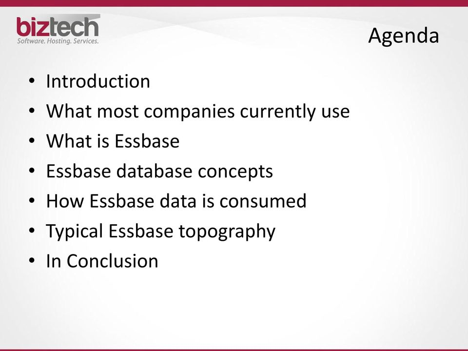 database concepts How Essbase data is