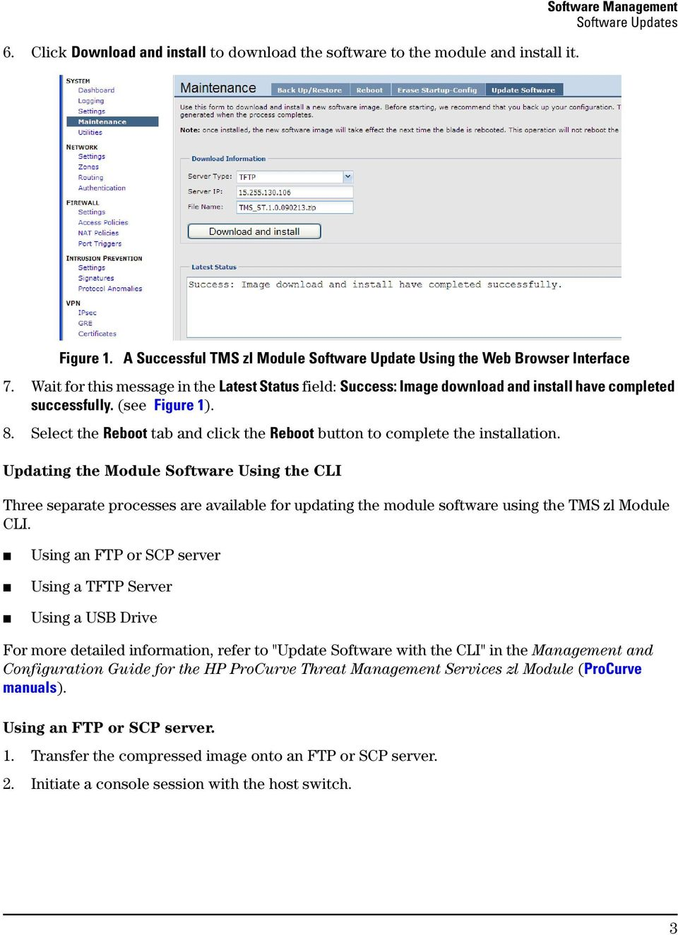 Release Notes: Version ST Software for the HP ProCurve