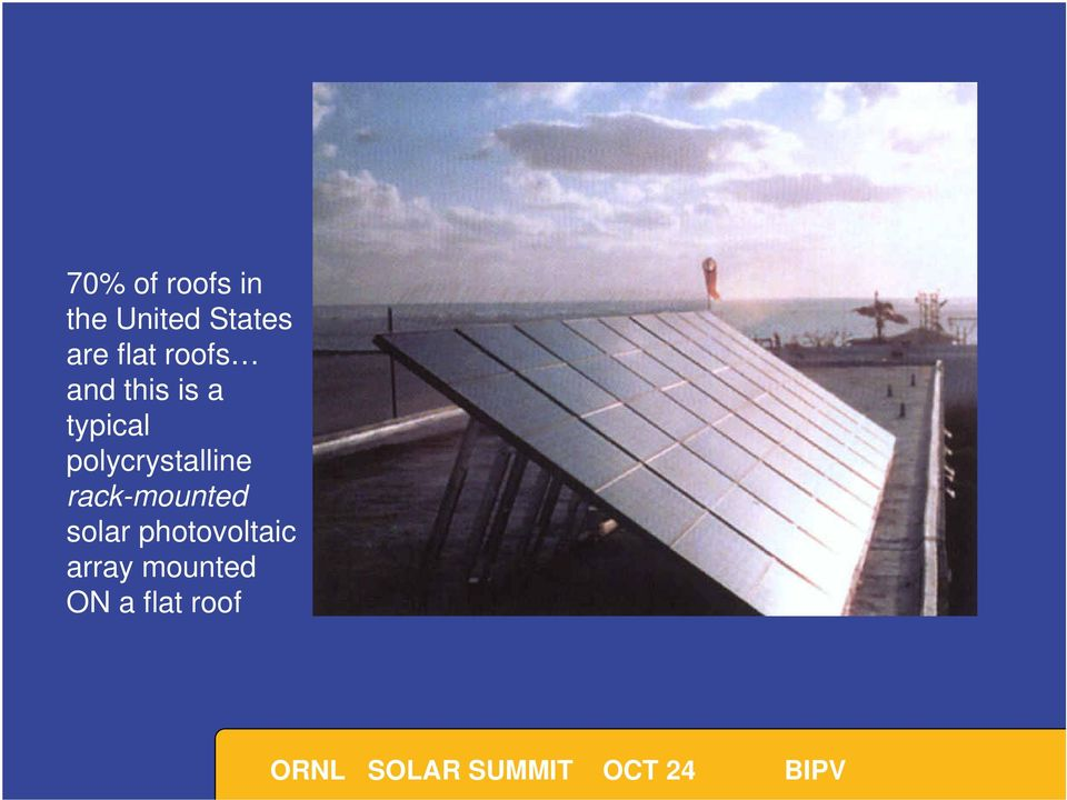 polycrystalline rack-mounted solar