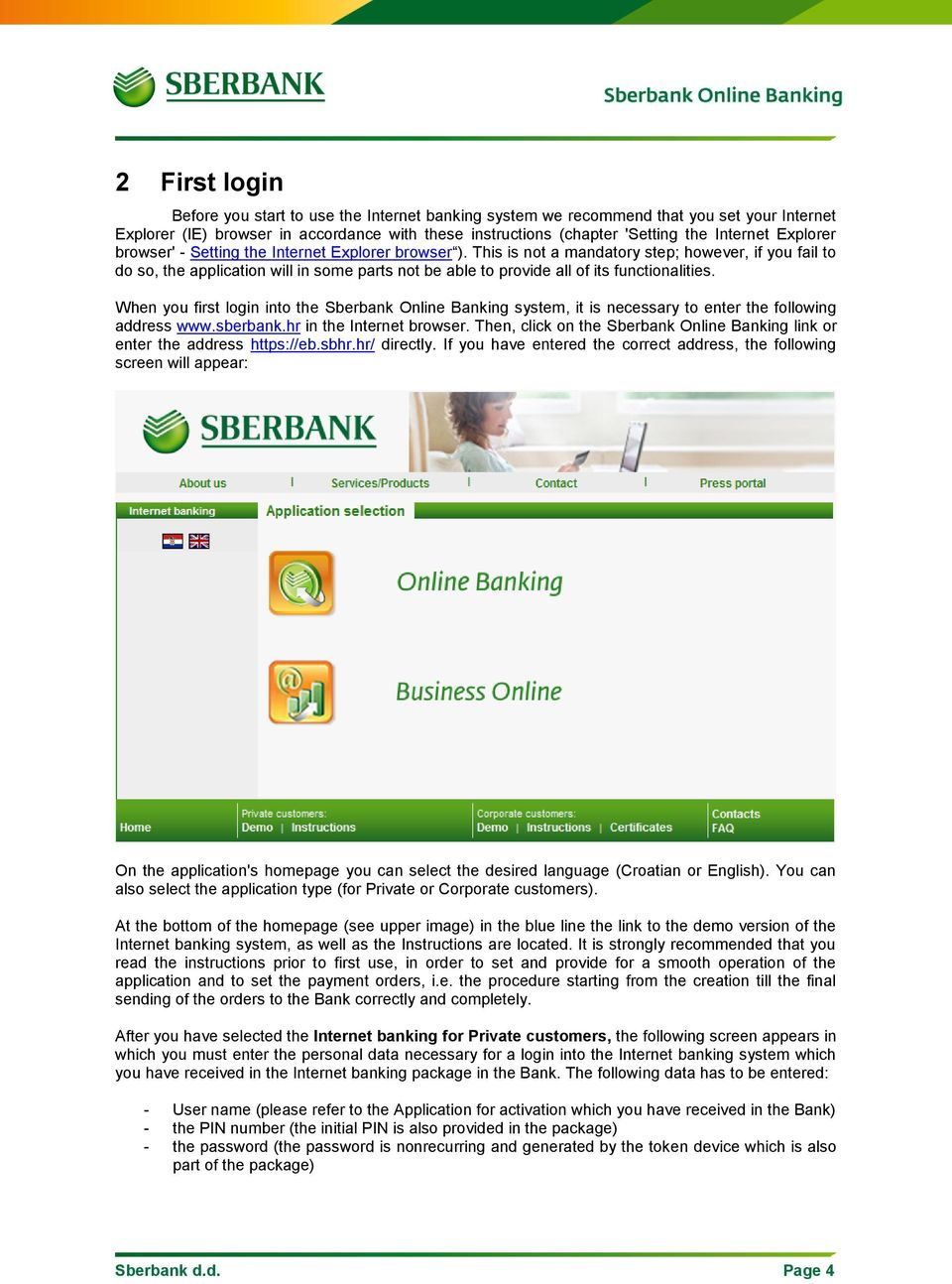 How to use Sberbank Online