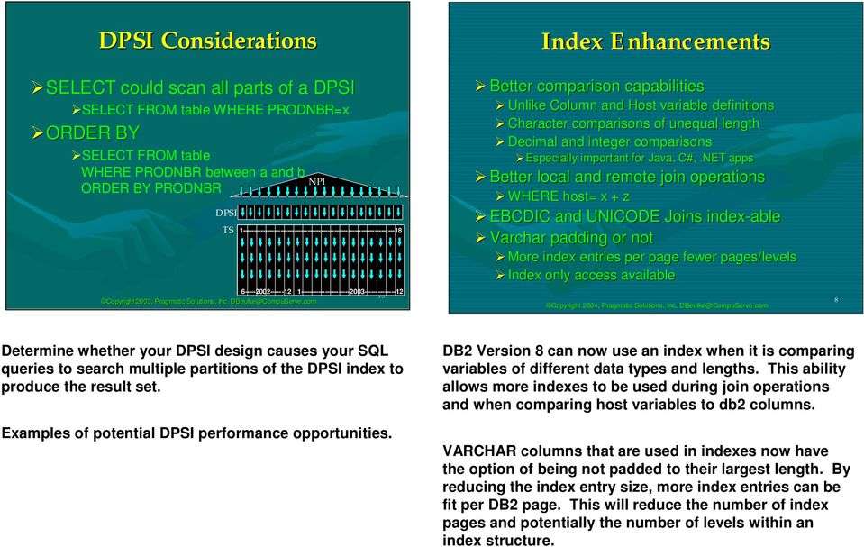 DB2 V8 Performance Opportunities - PDF