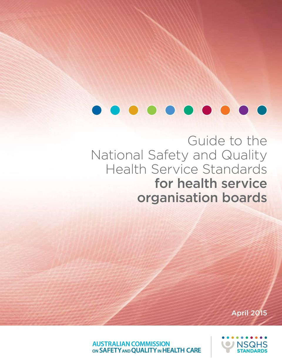 Standards for health service