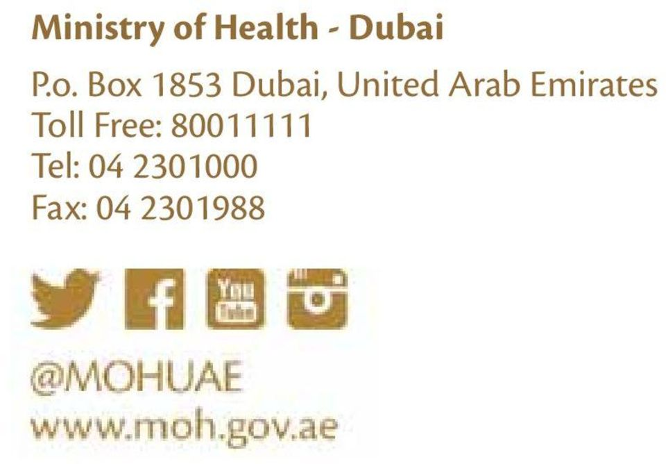 Arab Emirates Toll Free: