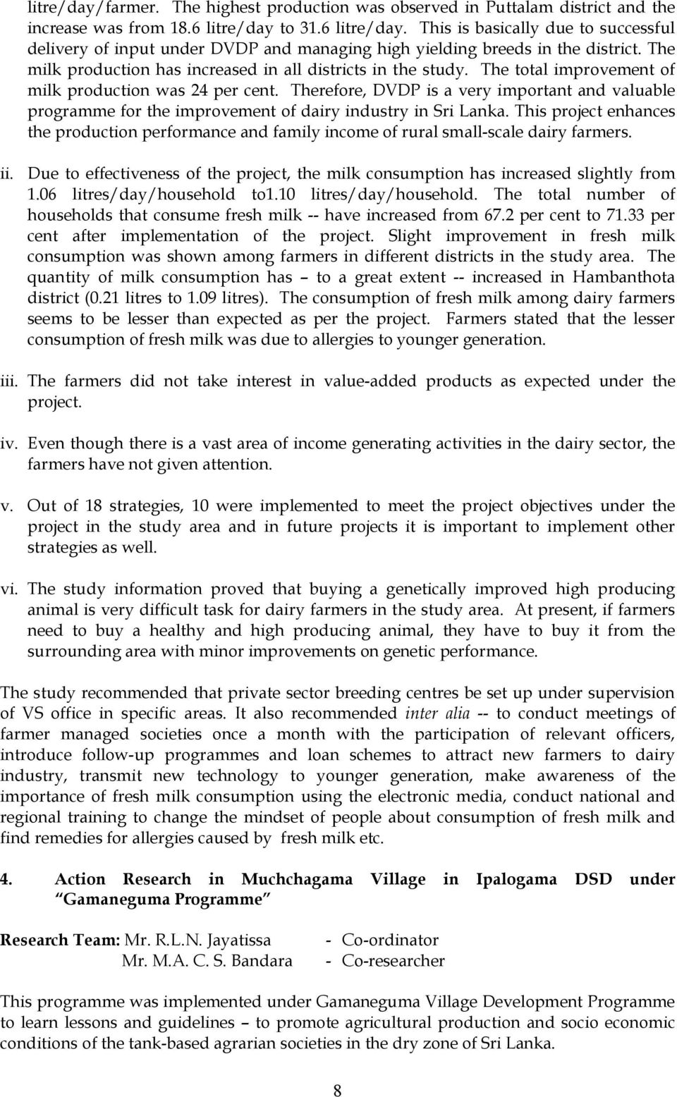 ANNUAL REPORT Mandate Under the provisions of section 3 (1