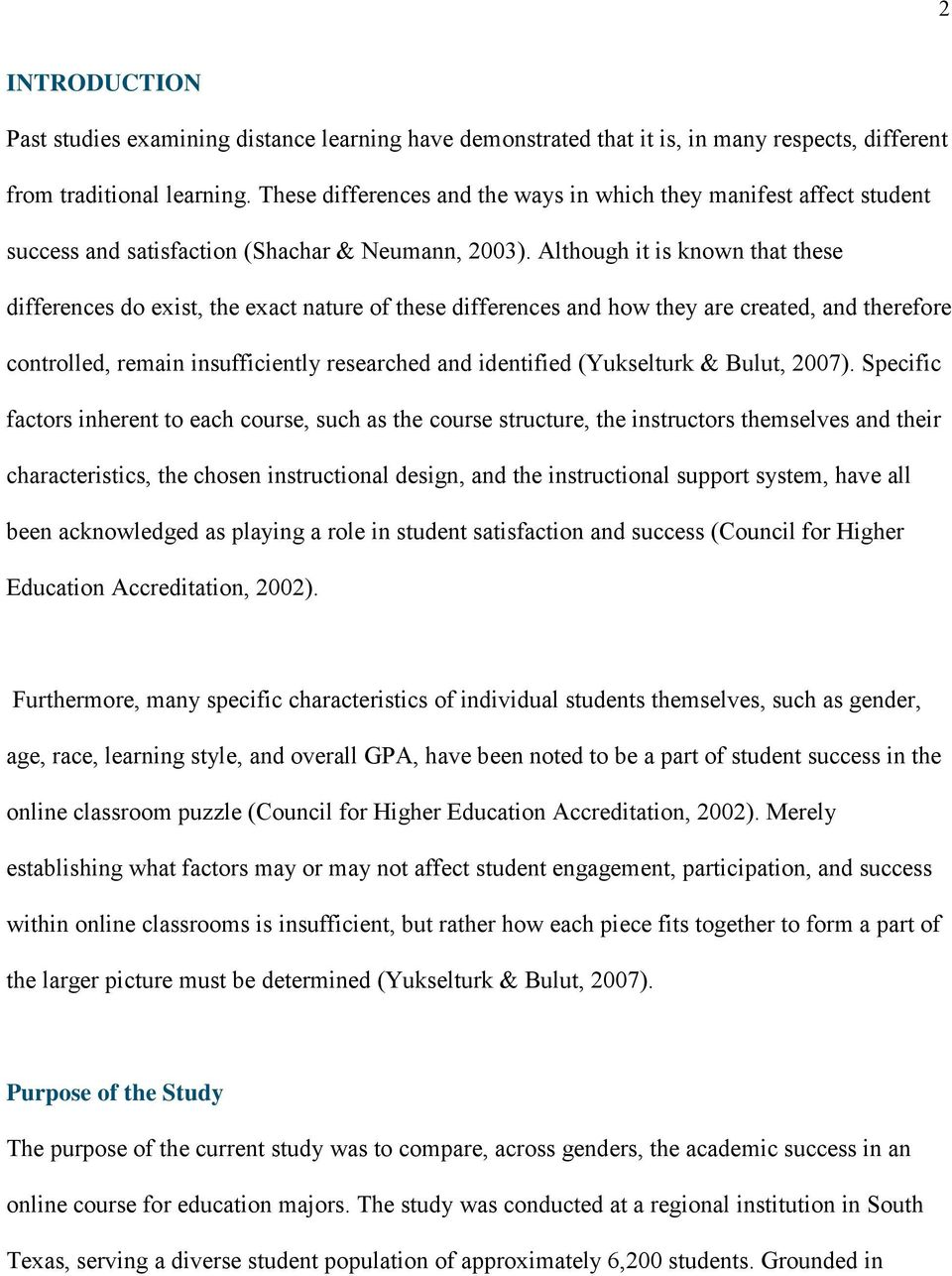 The Relationship between Gender and Academic Success Online - PDF