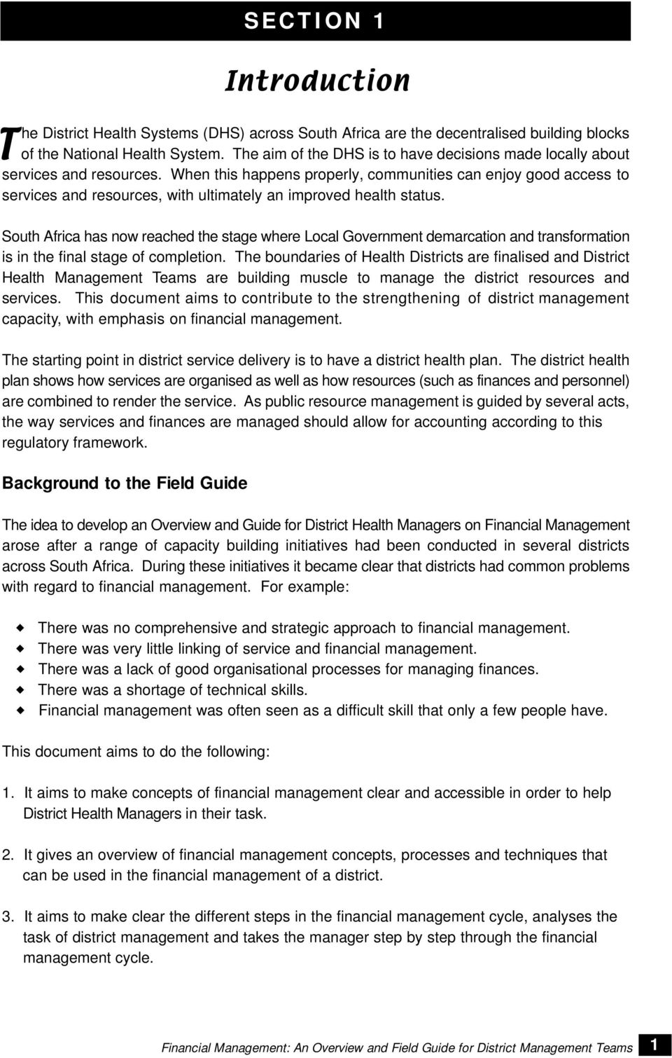 dhs financial management guide rh signaturepedagogies org uk Financial Management System Clip Art Financial Management