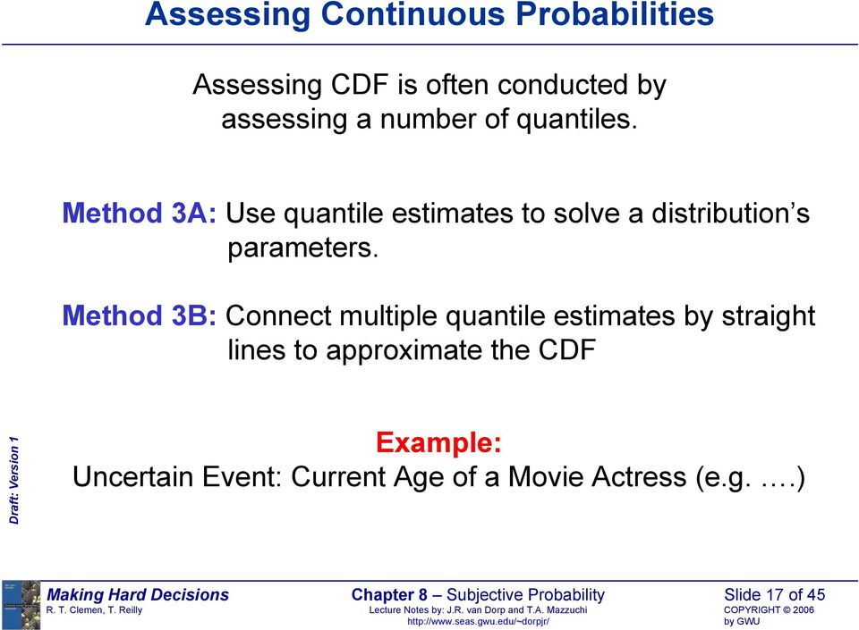 Chapter 8 Subjective Probability - PDF