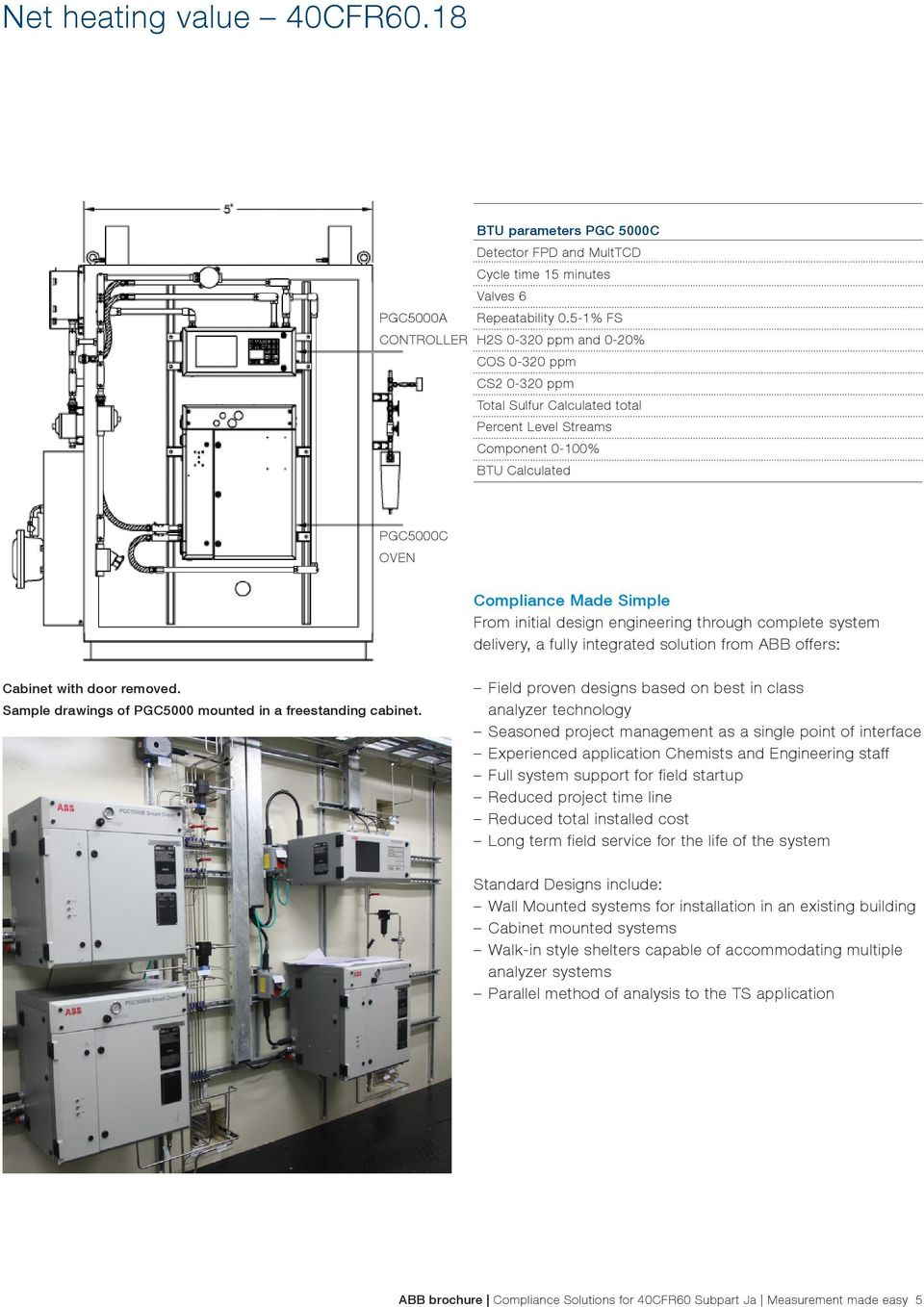 Process gas chromatographs. Measurement made easy ... on
