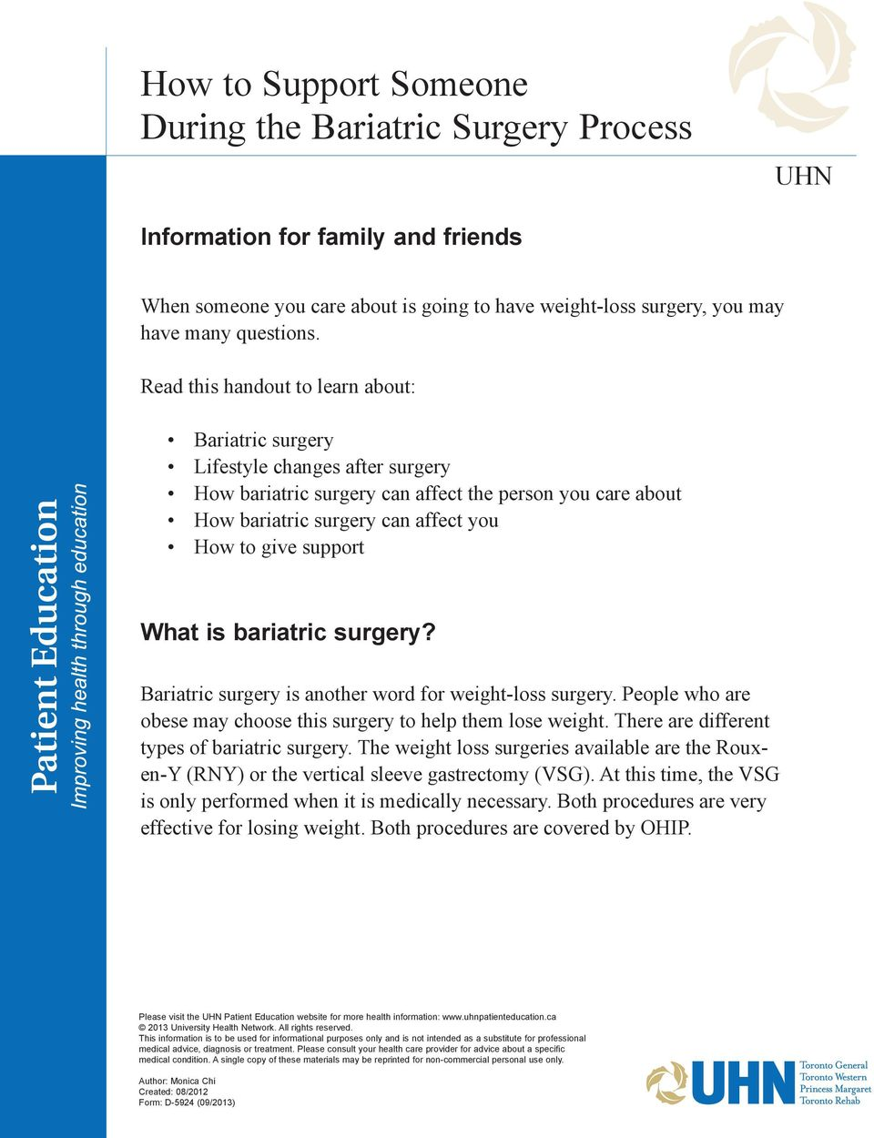 ohip weight loss surgery coverage