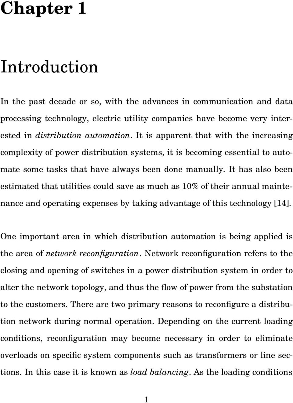 NETWORK RECONFIGURATION FOR LOSS REDUCTION IN THREE-PHASE POWER