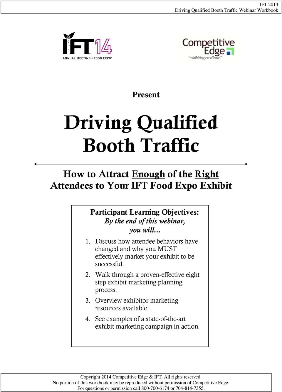 Driving Qualified Booth Traffic - PDF