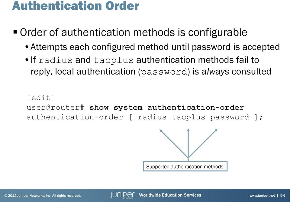 Introduction to the Junos Operating System - PDF