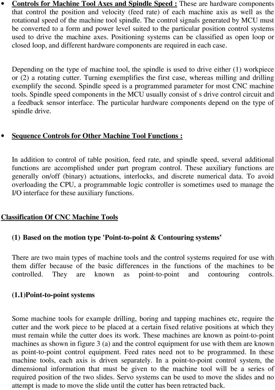 Introduction To Computer Numerical Control Pdf Rotative Speed Regulator Borer Driller Controller Positioning Systems Can Be Classified As Open Loop Or Closed And Different Hardware Components