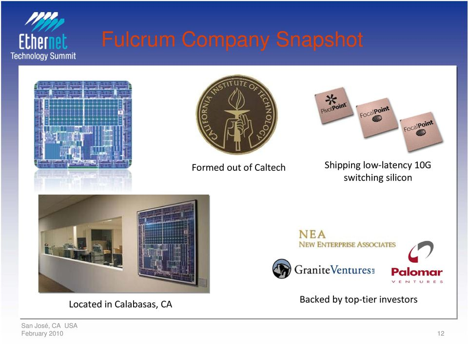 switching silicon Located in Calabasas,