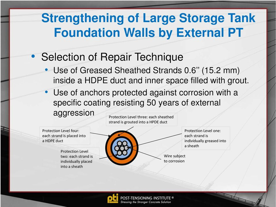 Strengthening of Large Storage Tank Foundation Walls in an