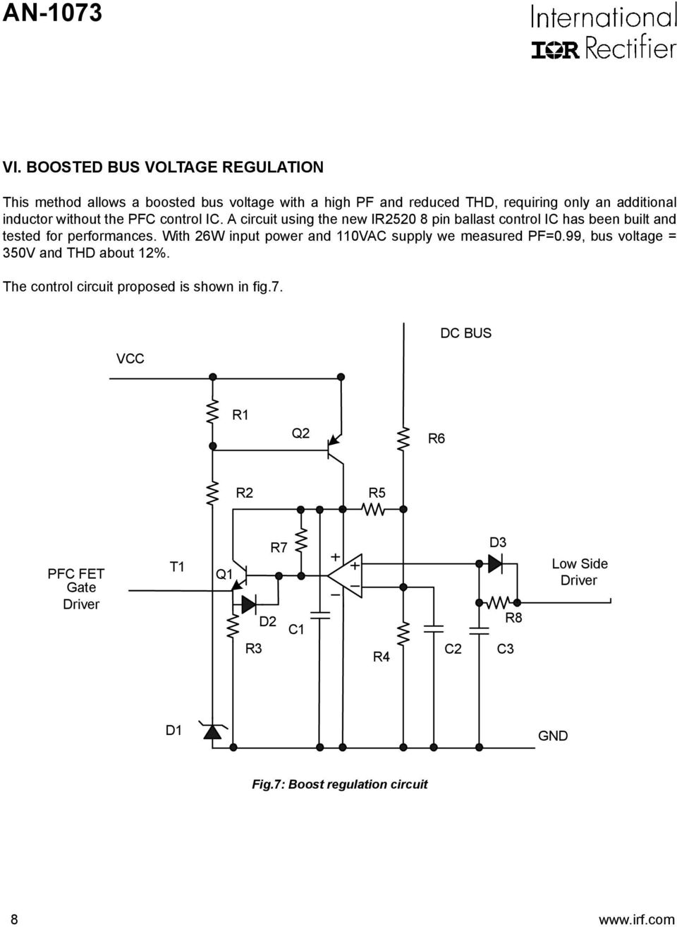 Application Note An Pdf 48v 2a Voltage Regulator Circuit Basiccircuit Diagram Regulation 8 With 26w Input Power And 0vac Supply We Measured Pf099 Bus
