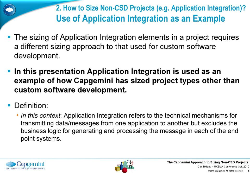Together  Free your energies The Capgemini Approach to Sizing Non