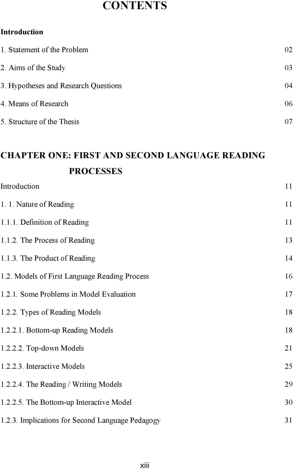 what is the definition of reading