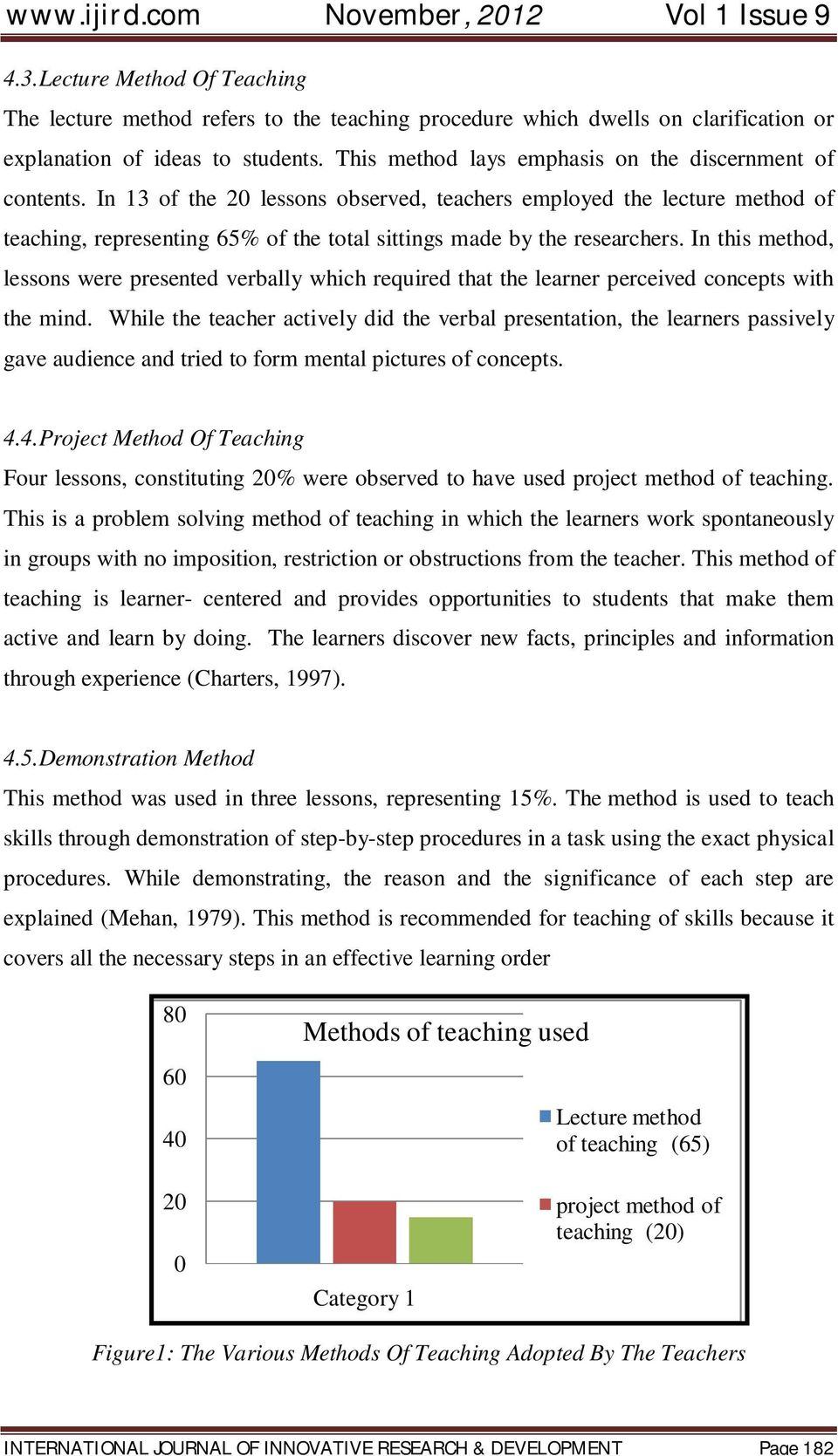Pedagogical Situations And Learning Outcomes In Graphic