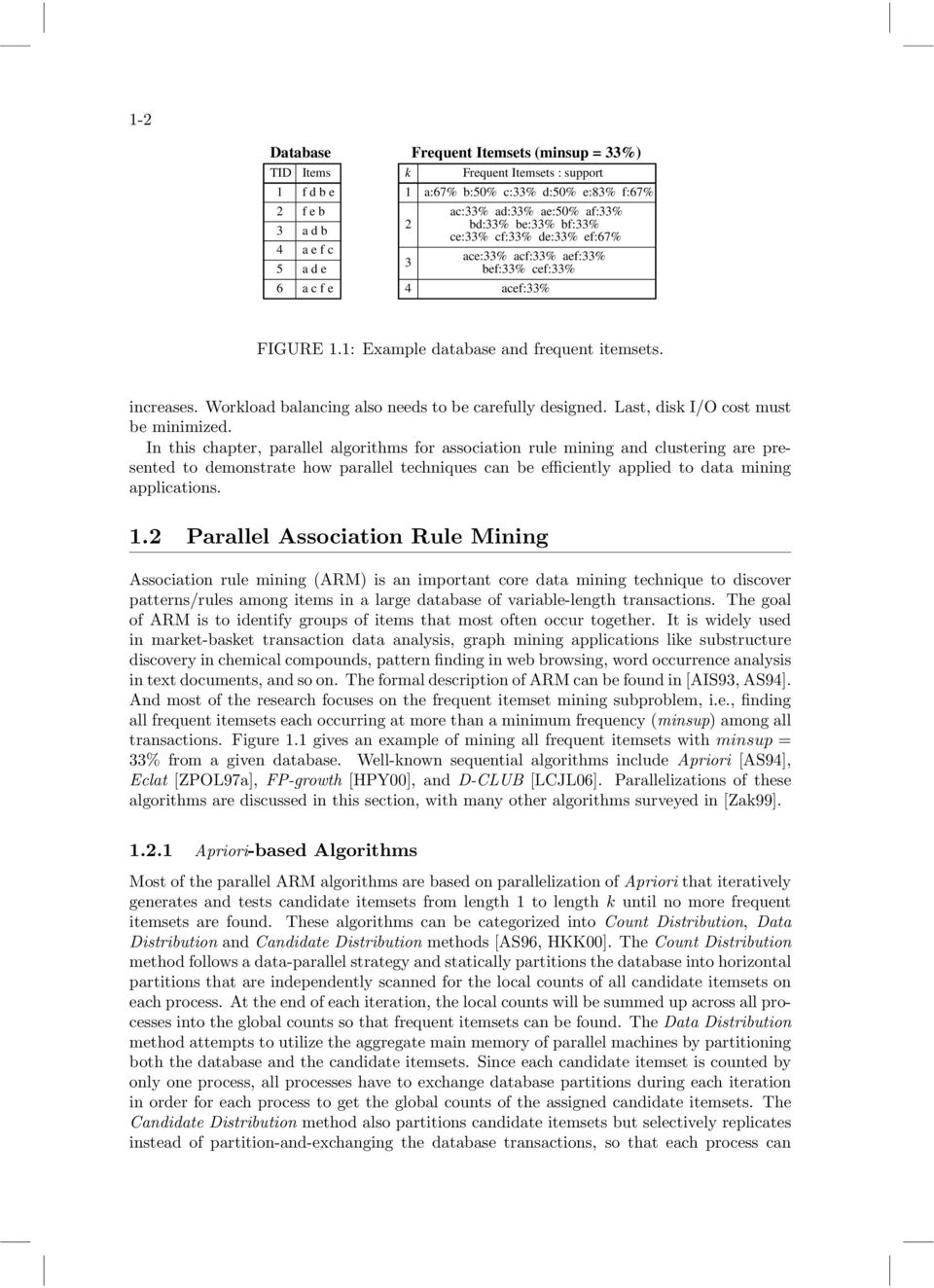 Parallel Data Mining Algorithms for Association Rules and Clustering
