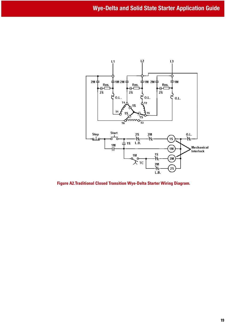 Wye Delta And Solid State Starter Application Guide Pdf With Motor Wiring Diagram On Traditional Closed Transition 19