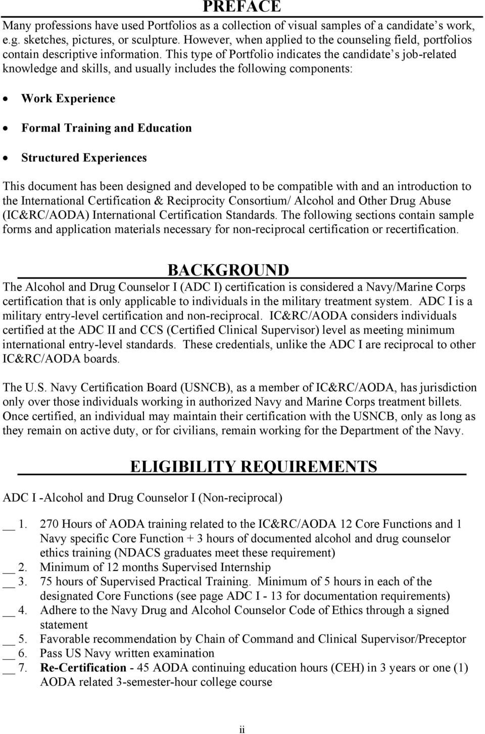Alcohol Drug Counselor Pdf