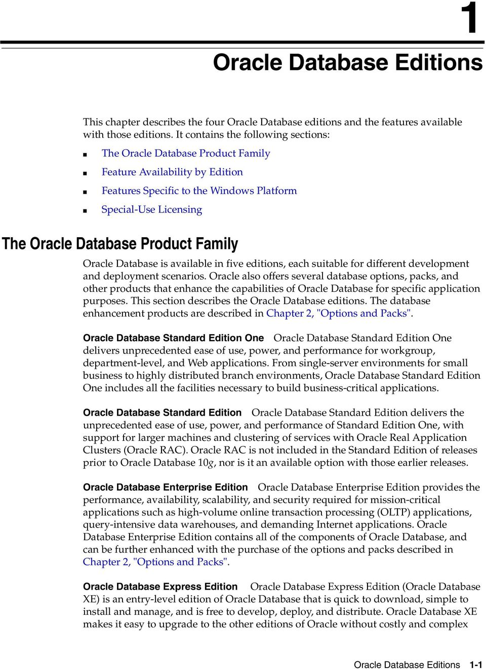 Oracle Database  Licensing Information 10g Release 2 (10 2