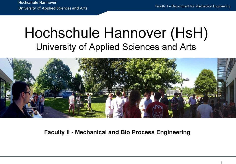 Hochschule Hannover Hsh University Of Applied Sciences And Arts Pdf Free Download