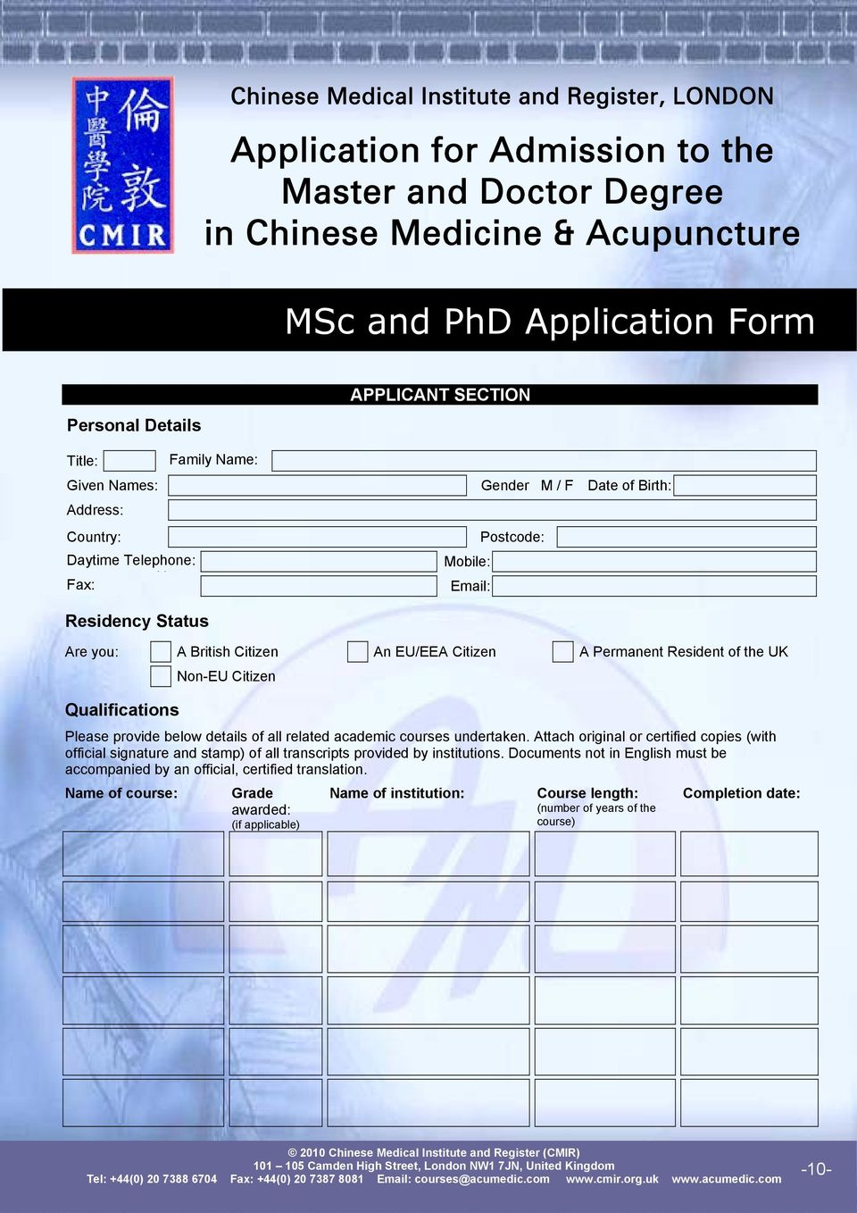 Chinese Medical Institute and Register 4  Guangzhou