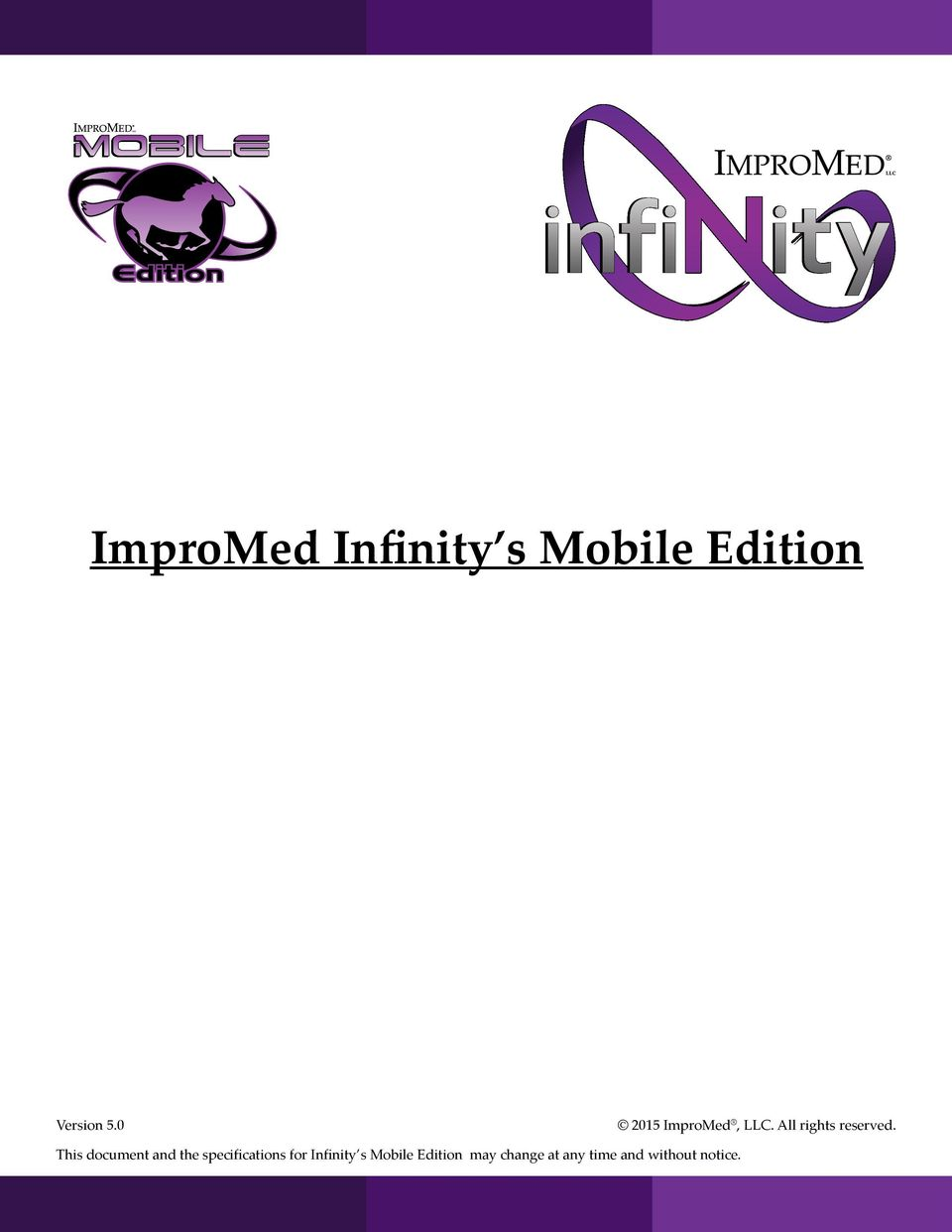 ImproMed Infinity s Mobile Edition - PDF
